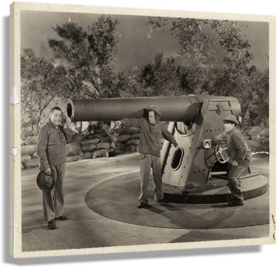 CZWZDY The Three Stooges Movie Posters for Home Art Deco Giclee Print on Canvas Paintings for Wall Decor Modern Artwork Printing Pictures Hallway Decorations for Living Room Painting Oil (24x36inch(60x90cm),Framed)