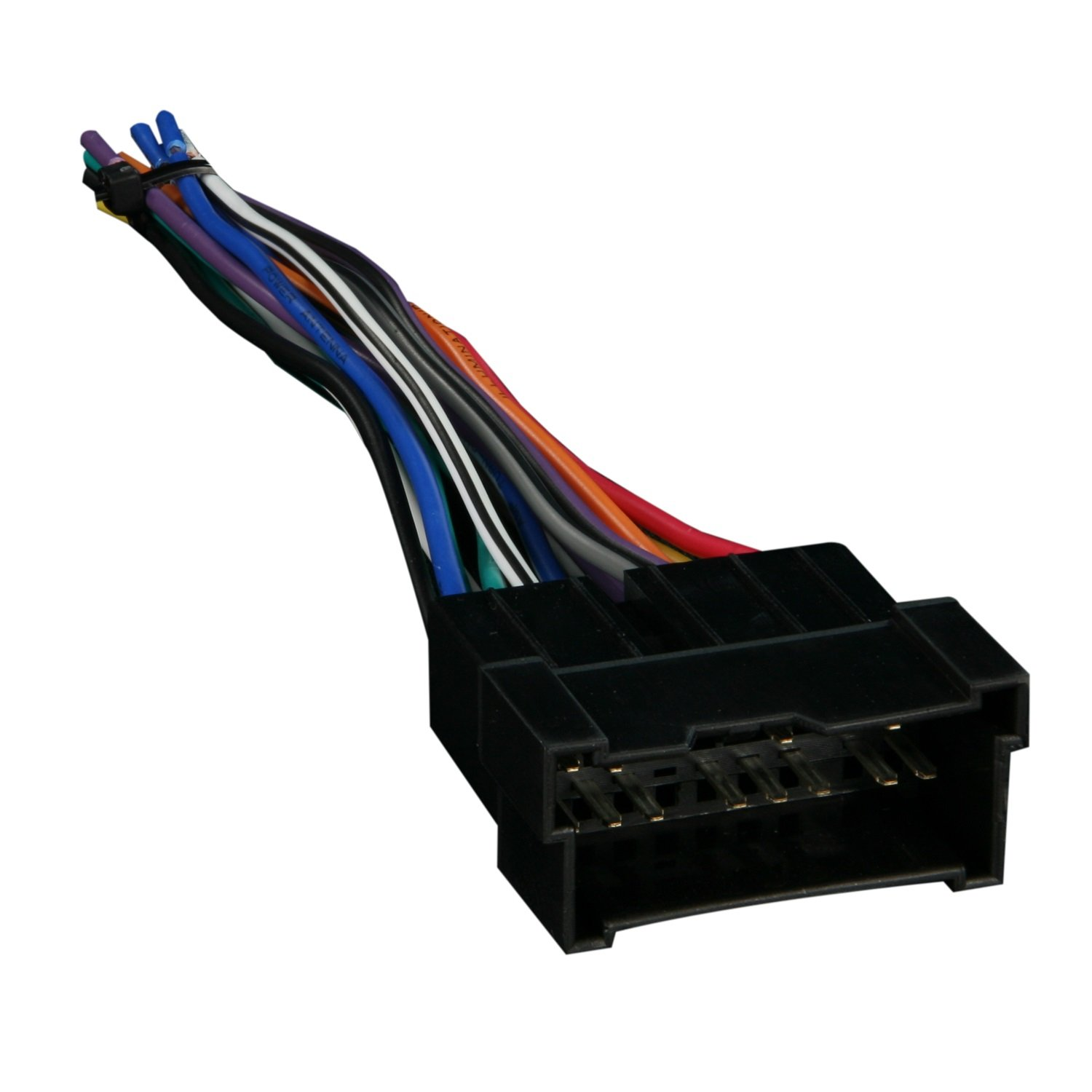 617yeBmOquL._SL1500_ amazon com metra 70 7301 radio wiring harness for hyundai kia 99 how to insert wire into harness at bayanpartner.co