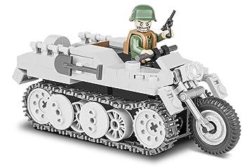 Konstruktion Spielzeug  Sd.Kfz.2 Kettenkrad HK-101 deutsches Mehrzweckfahrzeug