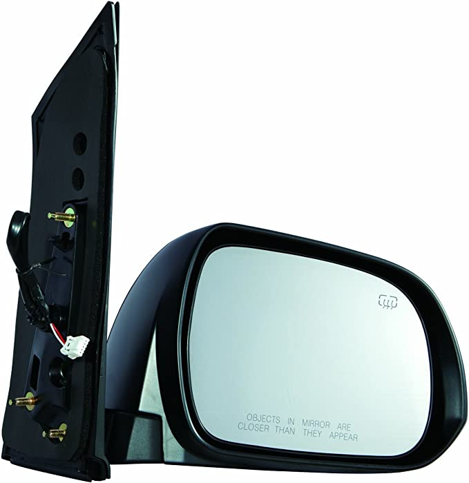 LEAF 2011 DOOR WING MIRROR ELECTRIC HEATED TEXTURED DRIVER SIDE HIGH QUALITY