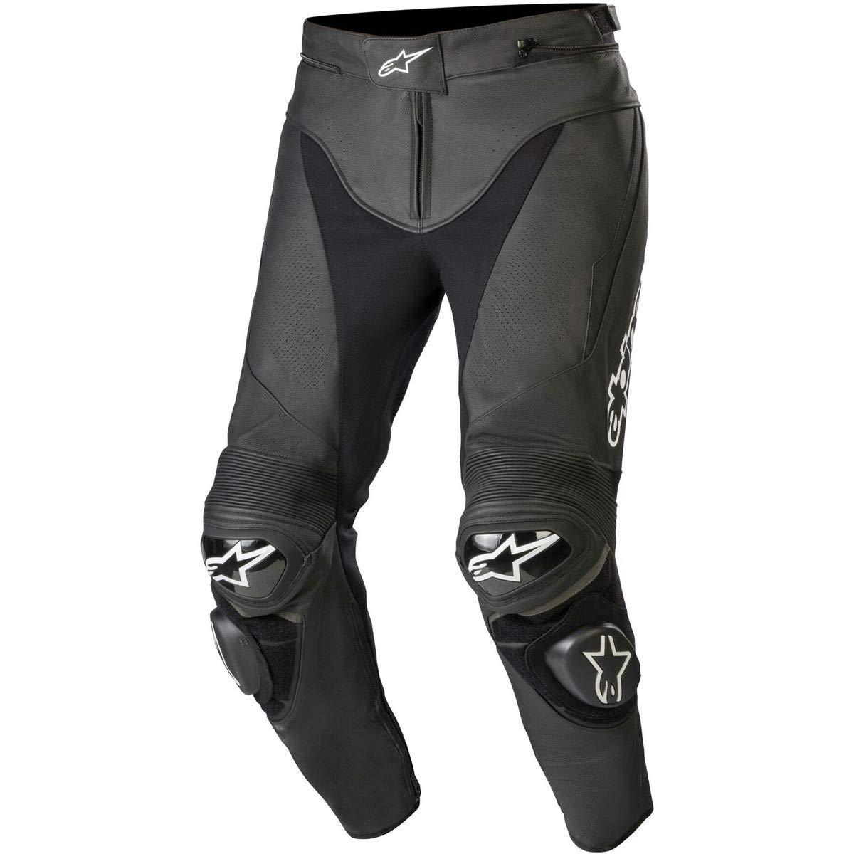 Amazon.com: Alpinestars Misiles piel Pantalones, Negro ...