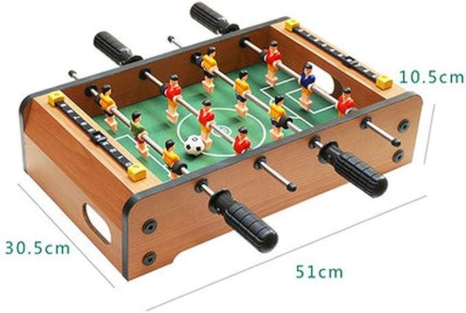 HXPH 2 Player Competition Desktop Football, Mini Family Football Juegos de Escritorio Fútbol para Adultos Tablero Deportivo, Fútbol de Madera Juguete Infantil Juegos educativos de Juguete: Amazon.es: Hogar