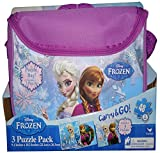 Frozen Carry and Go 3 Fashion Bag Puzzle (48-Piece) Styles Will Vary