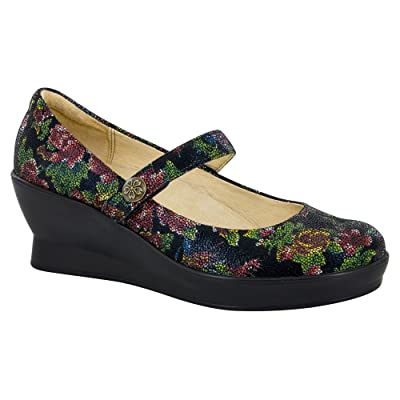 Alegria by PG Lite Women's Flair Mary Jane Wedge   Pumps