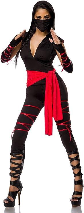 Sexy Ninja Disfraz Ninja Disfraz Guerrero Samurai Yakuza Juego ...