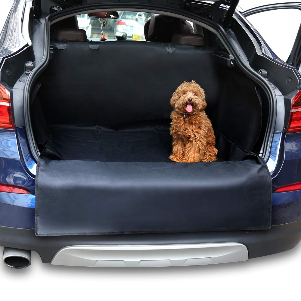 Cheerforu Car Boot Liners for Dogs Cats Durable Waterproof Car Back Seat Predector Fits Most Cars, SUV, Vans & Trucks