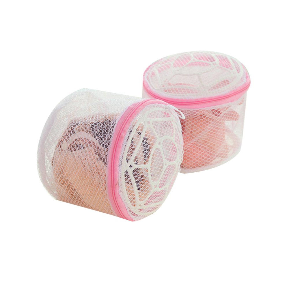 2X Dylandy Bra Wash Bag Lingerie Laundry Net Mesh Washing Bag with Zipped for Bra Underwear Baby Clothes Socks