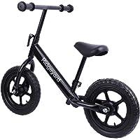 """Ridgeyard 12"""" No Pedal Balance Bike Adjustable Frame Walking Bicycle for Kids Age 2-6"""