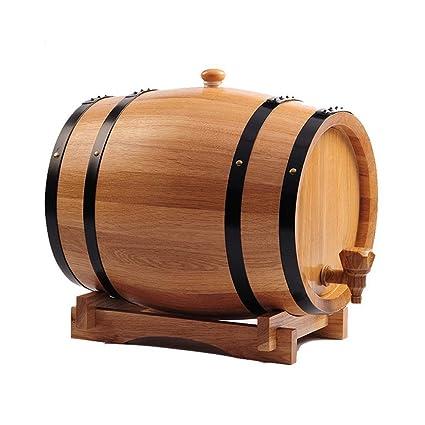 HQCC Barriles de Roble 3L-50L, Brandy casero/Whisky / Cerveza, dispensador