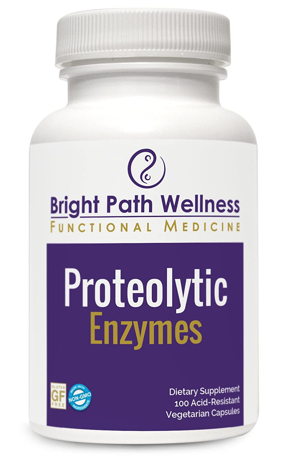 Amazon.com: proteolytic enzimas – 100 Vegetable Capsules ...