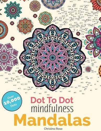 Dot Mindfulness Mandalas Relaxing Anti Stress