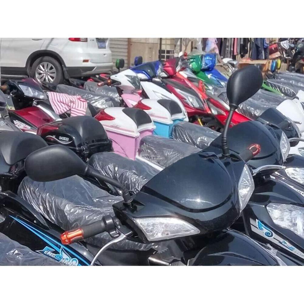ViZe 10mm Au/ßenspiegel Motorrad Spiegel Hinten Universal Spiegel Motorrad F/ür Honda Kawasaki Suzuki BMW KTM Truimph Hyosung S/&T Chopper Street Bike Sport Bike