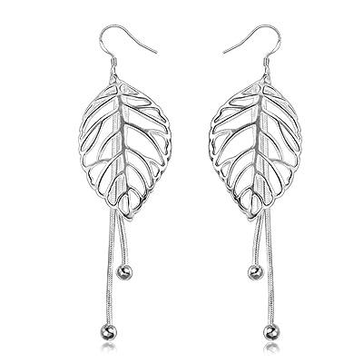 """""""Amberma Motif"""" Basic Collection de bijoux Argent Boucles d'oreille à tige pour femme, bijoux, cadeaux d'anniversaire pour filles amis Demoiselle d'honneur"""