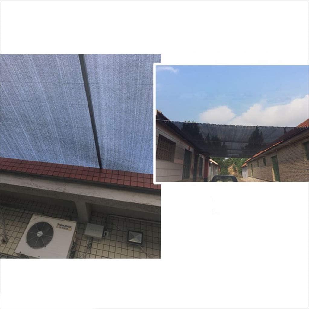 LYN 90% 2m * 3m Sun Mesh Shade Sombra de Tela Tela Resistente a los Rayos UV Red con Cinta Reforzada y Ojal 4M × 6M