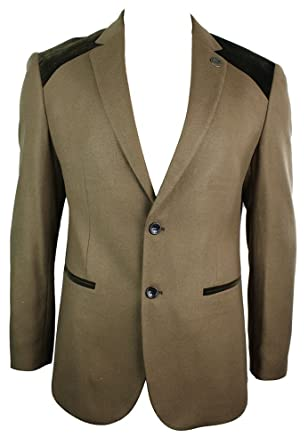 giacca velluto con toppe