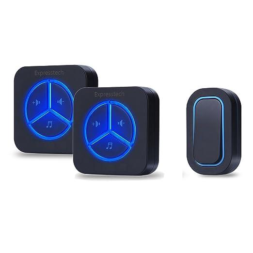3 opinioni per Expresstech @ Campanello Senza fili Campanelli Elettrico Wireless 300M- 1