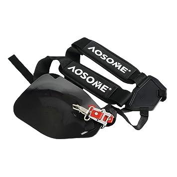 Arnés profesional AOSOME para cortacésped con clip de liberación rápida