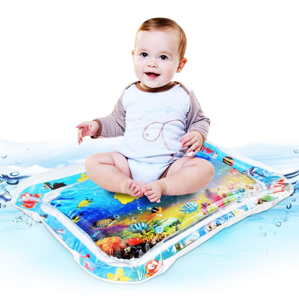 Tapis de Jeu deau pour B/éb/é Tapis deau Gonflable Activit/é de Divertissement pour Enfant Centre Beetest Tapis deau Gonflable de B/éb/é 66*50cm