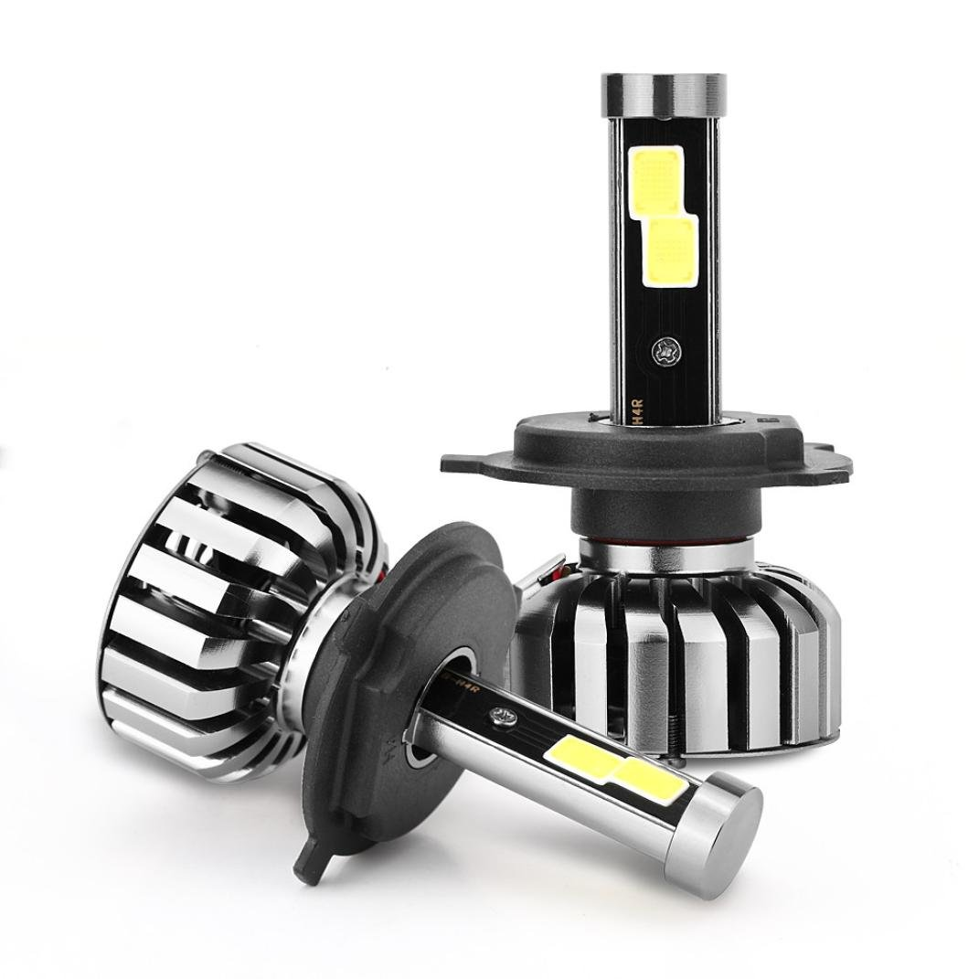 ximandi hb2 80 W 8000lm COB LEDヘッドライトキットHi / Loビーム電球6000 K h1 h3 h4 h7 h8 h9 h11 h13, H4 B07BZG98NV   H4