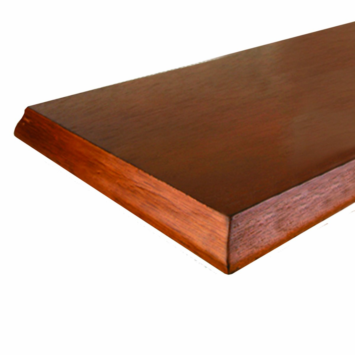 John Sterling 0137-824HNY Decorative Edge Wood Shelf, 8-Inch by 24-Inch, Honey Knape & Vogt