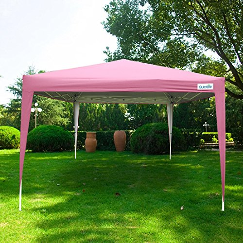 Save & Quictent Silvox® Waterproof 10x10u0027 EZ Pop Up Canopy Gazebo Party ...