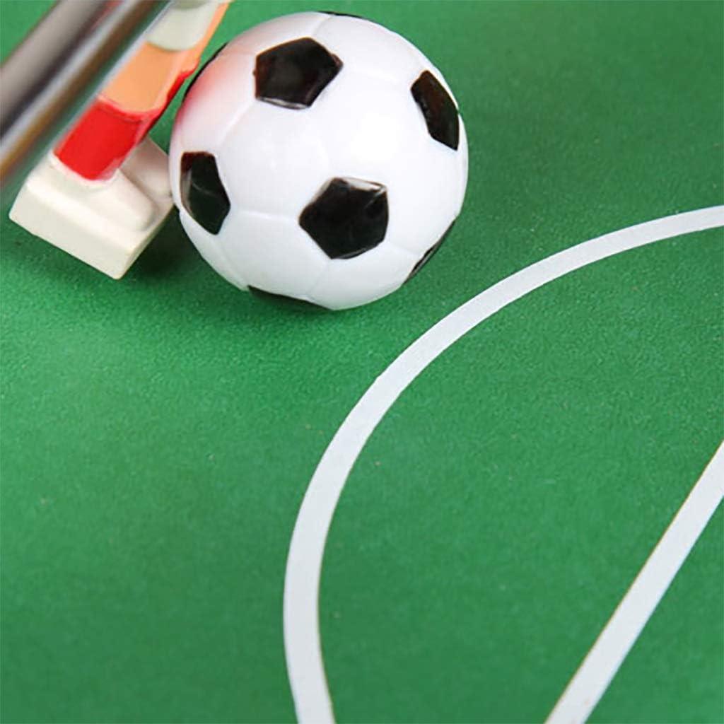 Futbolines Juegos De Futbol Futbolín Material De Madera Plástico ABS Libre De Tóxicos Y Seguro Club De Acero Inoxidable No Deformado Diseño De Mango Antideslizante. Regalo para Niños Futbolines: Amazon.es: Hogar