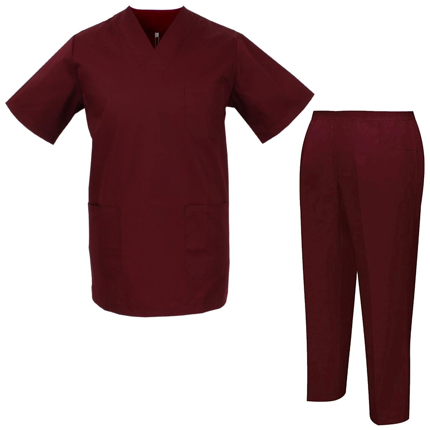 MISEMIYA - Uniforms Unisex Scrub Set – Medical Uniform with Scrub Top and Pants - Ref.8178