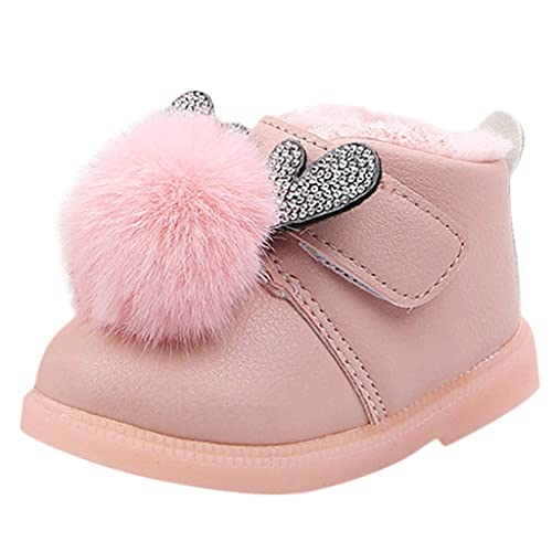 Mitlfuny Invierno Caliente Unisex Botines Zapatos Cuero para Bebé ...