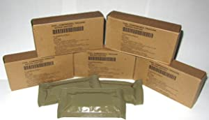5 Boxes - 15 Large Bars - Military Trioxane Compressed Ration Heating Fuel Tabs