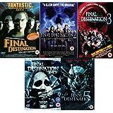 Final Destination Complete All Movies Film Pentology Collection DVD [5 Discs] Part 1, 2, 3, 4 + 5 + Extras