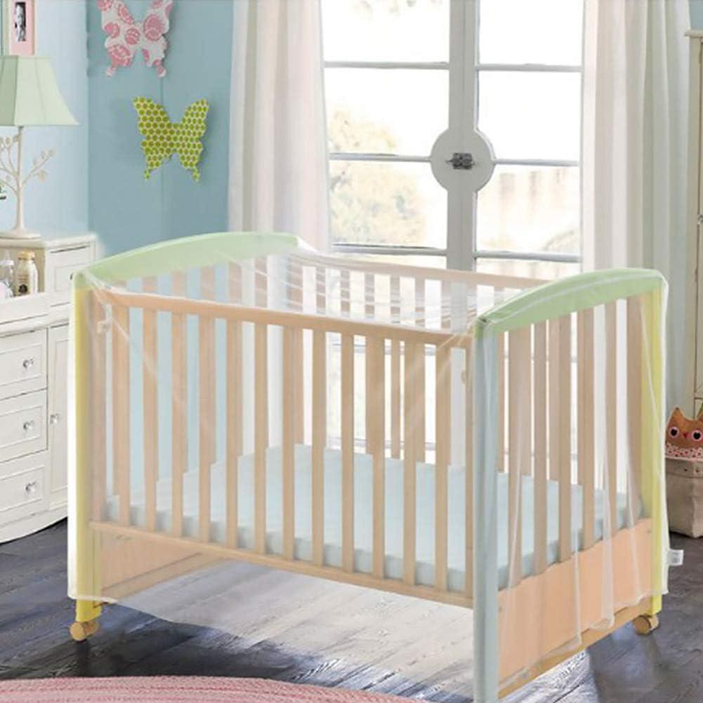 con cremallera para un acceso r/ápido y f/ácil a tu beb/é. Mosquitera y mosquitera para camas de beb/é cuna y camas de viaje