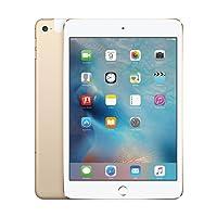 "APPLE. Tablet 7.9"" iPad Mini 4 16 GB A1550 WiFi + Cellular 4G Funciona EN MÉXICO Dorado/Gold Reacondicionado (Certified Refurbished)"