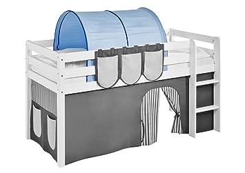 Etagenbett Tunnel Set : Lilokids tunnel blau für hochbett spielbett und etagenbett