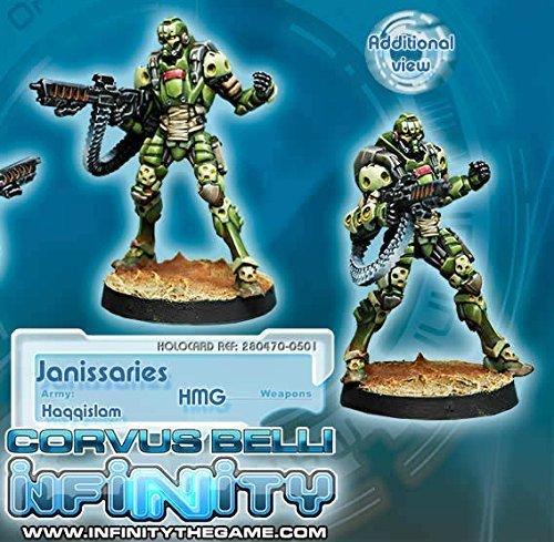 【税込?送料無料】 Haqqislam Janissaries With Corvus HMG Miniature Corvus Janissaries Miniature Belli B00ZKU6SDI, 工具ショップ:e61a99d1 --- ciadaterra.com