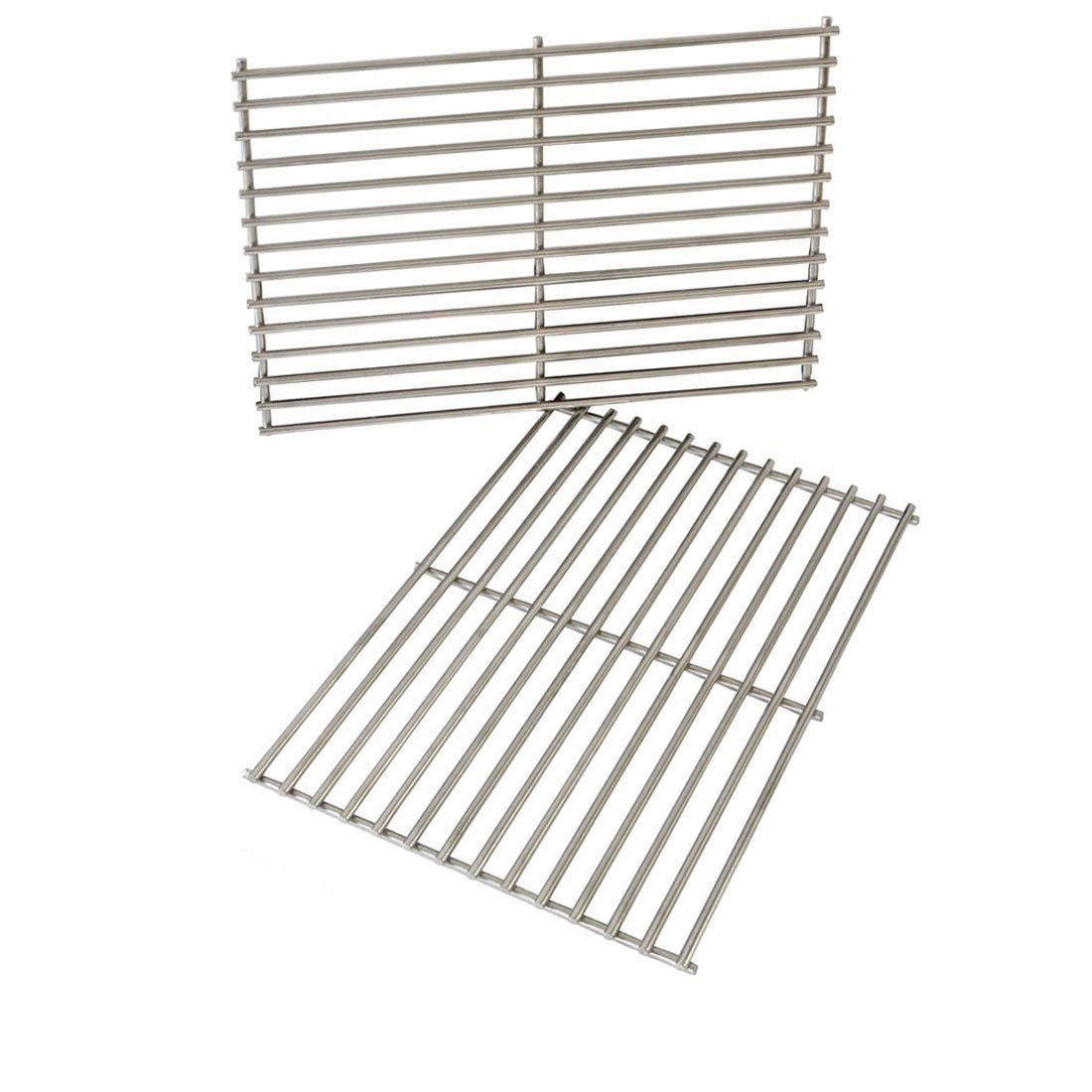 Onlyfire Replacement BBQ Stainless Steel Cooking Grill ROD Grid Grates for Weber 7527 9930 Spirit and Lowes 8505-RS2