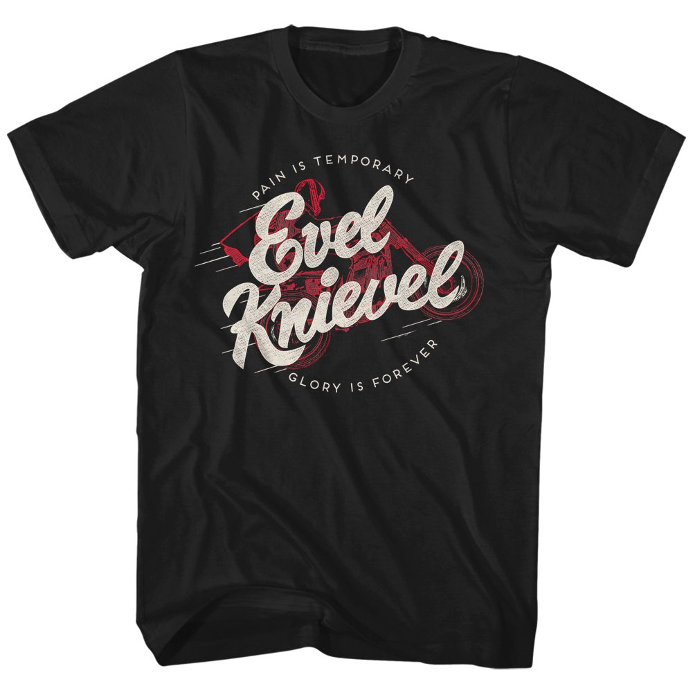Evel Knievel Shirt Glory Is Forever T Shirt 7839
