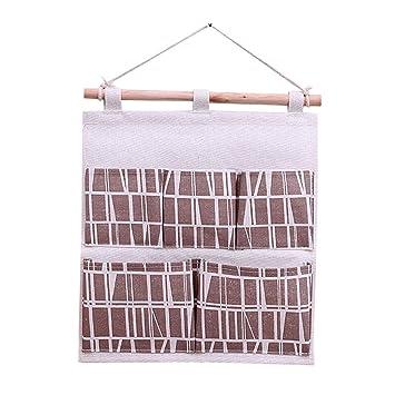 kanggest H/ängeorganizer Baby Kinder Wand H/ängenden Tasche Gadget Pouch Debris Beutel Bad Wand Organizer Multifunktionale Wohnzimmer Schlafzimmer H/ängenden Tasche