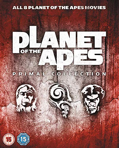 Planet of the Apes (Primal Collection) - 8-Disc Box Set ( Planet of the Apes / Beneath the Planet of the Apes / Escape from the Planet of the Apes / Conq [ Blu-Ray, Reg.A/B/C Import - United Kingdom ] (Planet The Apes Legacy Movies Of)