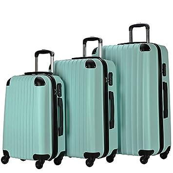 Amazon.com: Resena - Juego de 3 piezas de equipaje con ...