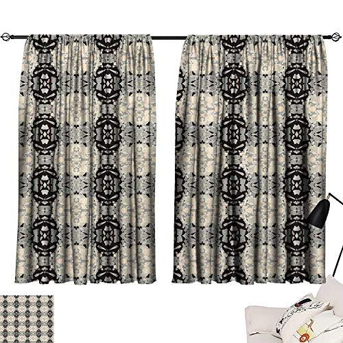 Hariiuet Blackout Draperies for Bedroom Seamless Wallpaper pattern1111113 54