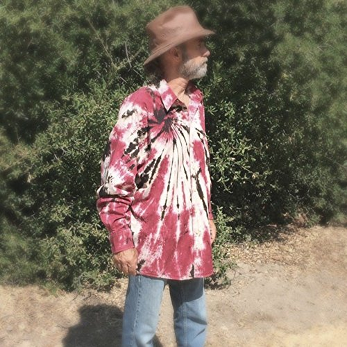 Red Tie Dye Oxford by Incense and Peppermints