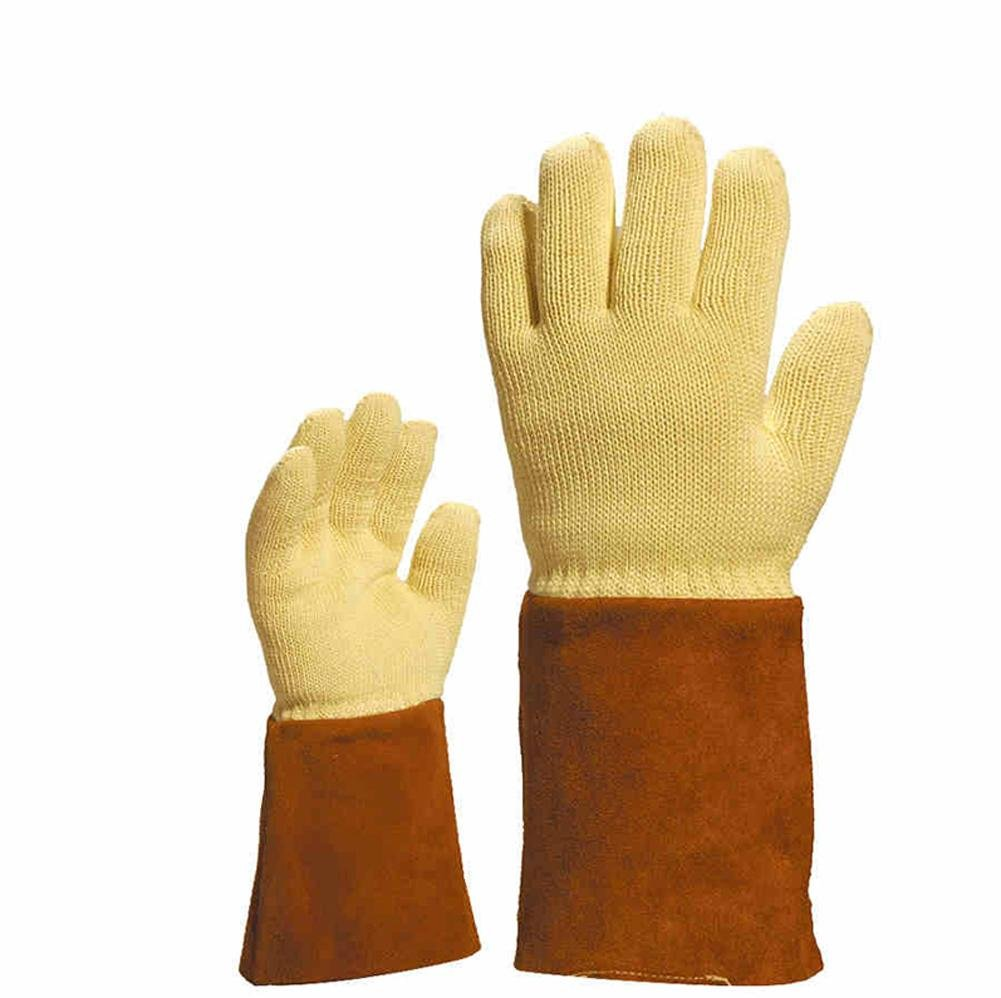 Multi-function anti-high temperature anti-cutting gloves security products anti-250 ° -300 ° high temperature labor insurance tools , A