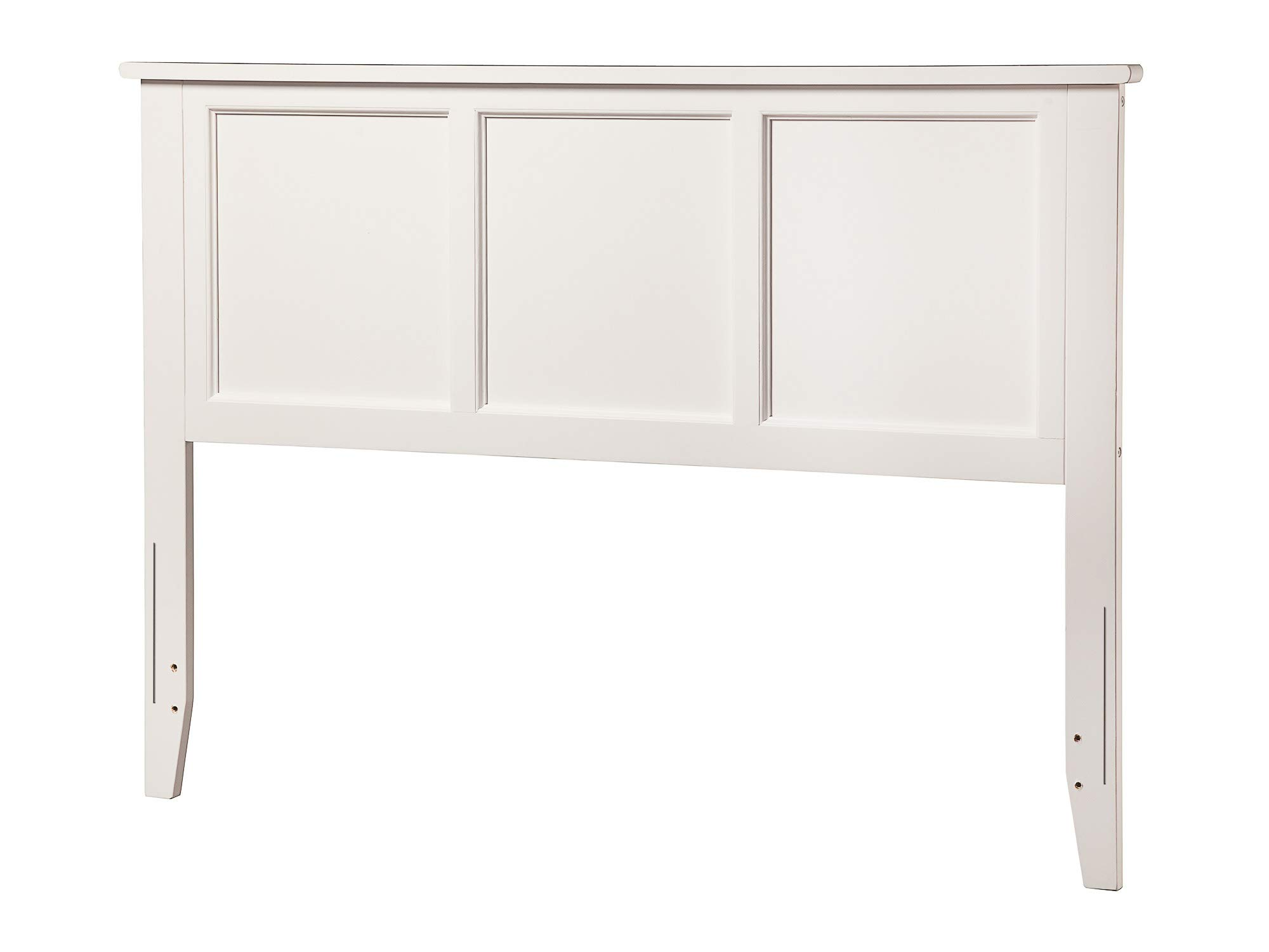 Atlantic Furniture Madison Headboard, Full, White by Atlantic Furniture