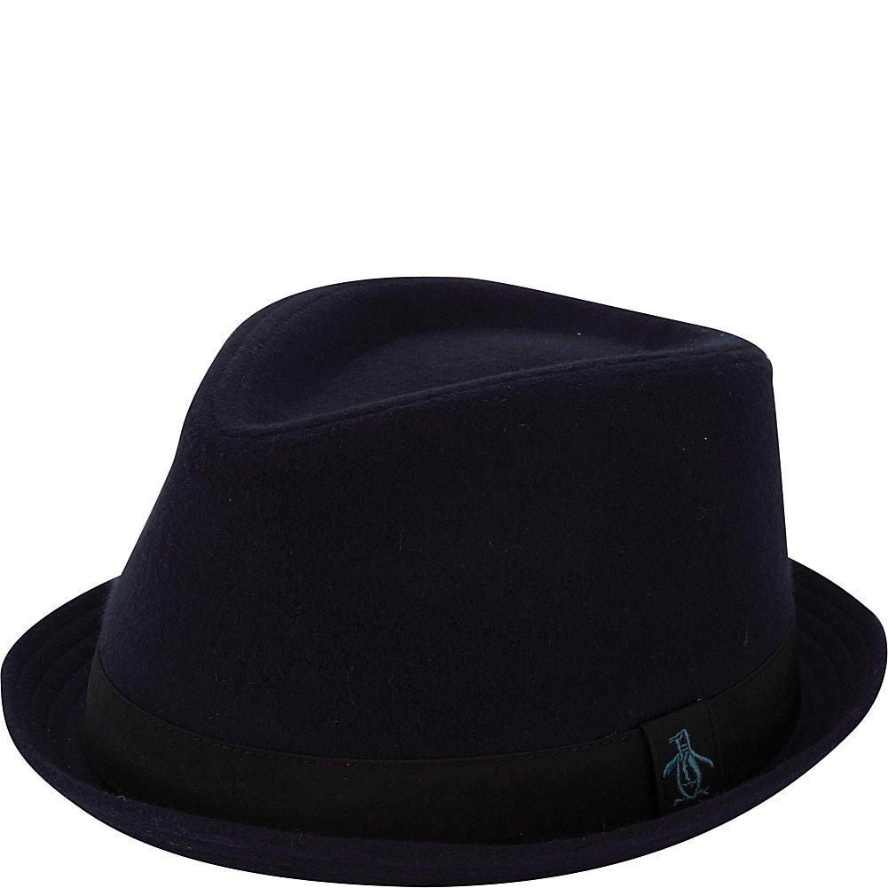 Original Penguin Mens Melton Wool Porkpie Hat