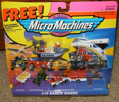 (Micro Machines Ranch Riders Collection #19)