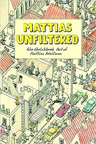 409f4c2f Amazon.com: Mattias Unfiltered: The Sketchbook Art of Mattias ...