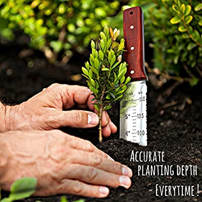 Dig Dig - NEW & IMPROVED Japanese Hori Hori Garden Landscaping Digging Tool With Stainless Steel Blade & Ultra Sheath : Garden & Outdoor