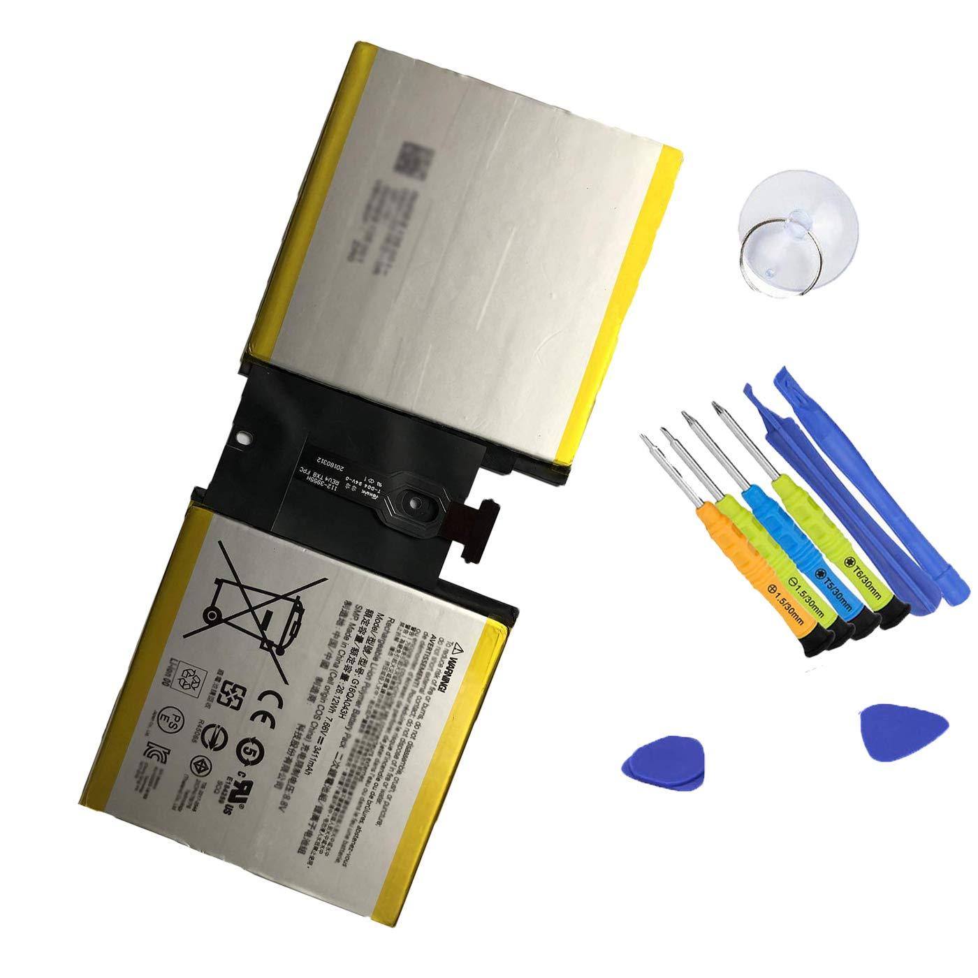 Bateria Tablet G16QA043H para Microsoft Surface GO 1824 Seri
