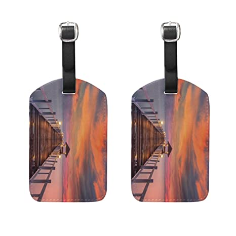 Amazon com | Nightfall Travel Luggage Tags, Business