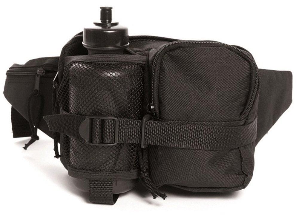 Mil-Tec Bolsa de cintura con Canteen Negro 13511002